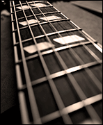 Learning the guitar fretboard
