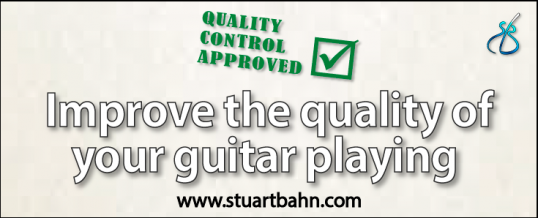 Improve the quality of your guitar playing